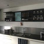 moderne minimalistisk nordisk indretning køkken wallume hylde