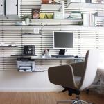 moderne minimalistisk nordisk indretning wallume kontor hylde indretning