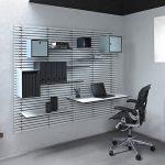 moderne minimalistisk nordisk indretning wallume kontor indretning