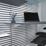 moderne minimalistisk nordisk indretning wallume hylde kontor indretning